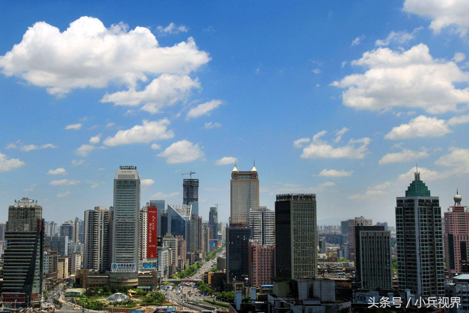 长沙,你忽略的风景,这个城市的天空不比云南,西藏差