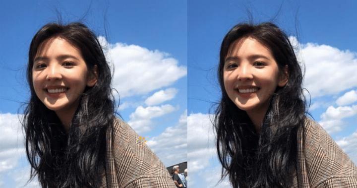 章若楠为什么那么爱笑, 看到她严肃的样子, 网友: 心碎了