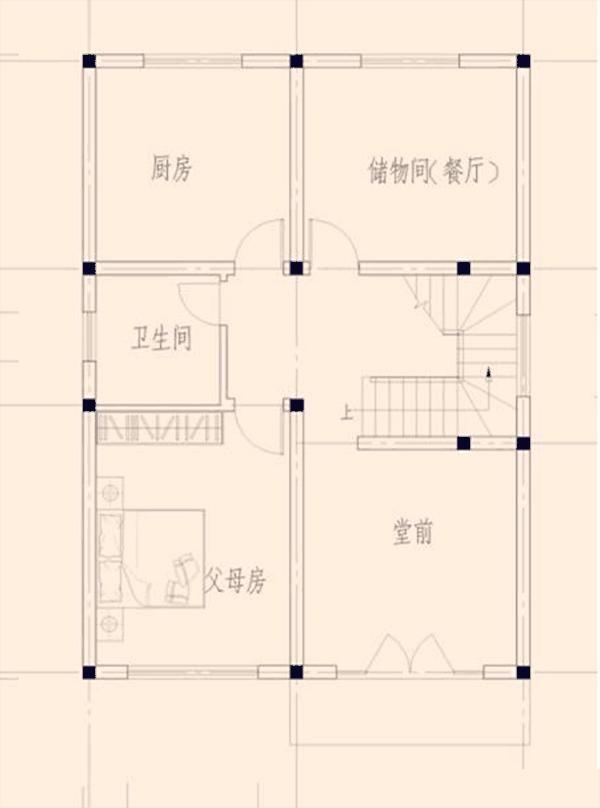 2款带堂屋农村别墅,经济实用接地气,为农村人量身定制好户型