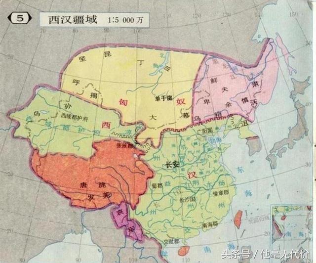 这个时候海南岛,朝鲜半岛都已经成为了大汉领土,日本也开始成为是中国