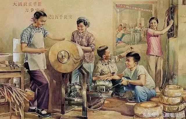 金梅生,哈琼文的年画作品,贴近时代,贴近生活,令人怀念