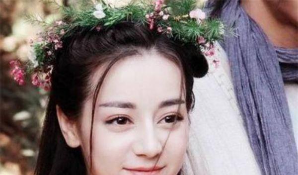 带古装最美的4大花环孙俪:美女唯美,热巴颜值淡然的美女图片图片