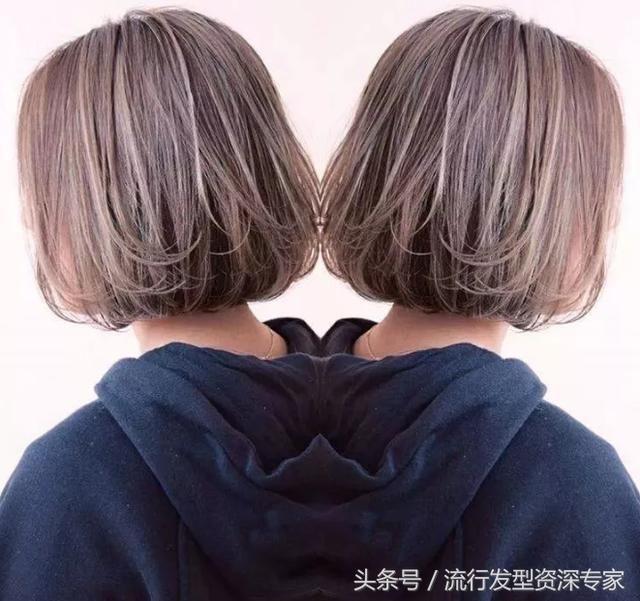 2018女生潮流发型