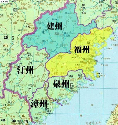 建瓯各乡镇地图