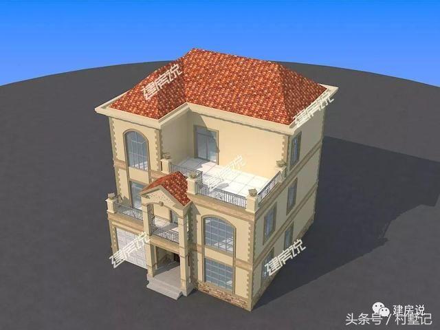 3套带复式楼的欧式别墅,高端大气上档次!图片