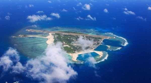 南沙群岛最新填海囹�a_南沙群岛的填海造岛工程体现的是国家实力与国家意志!
