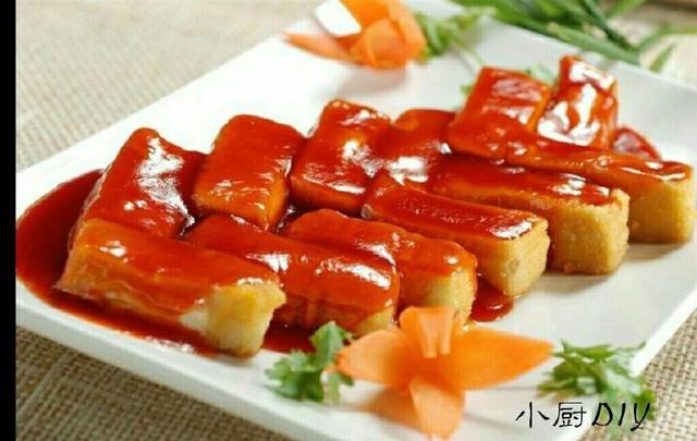 泰汁日本豆腐_泰汁豆腐
