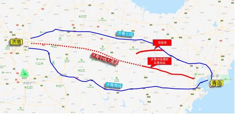济青中线潍坊至青岛段用地预审与规划选址专项获批潍坊青岛