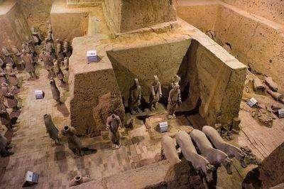 秦始皇陵墓中真的有永动机,揭开它的动力来源之谜,很多人都愣住图片