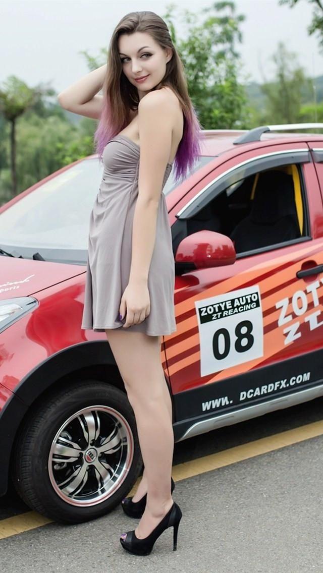乌克兰极品的高挑模特 大秀妩媚身材