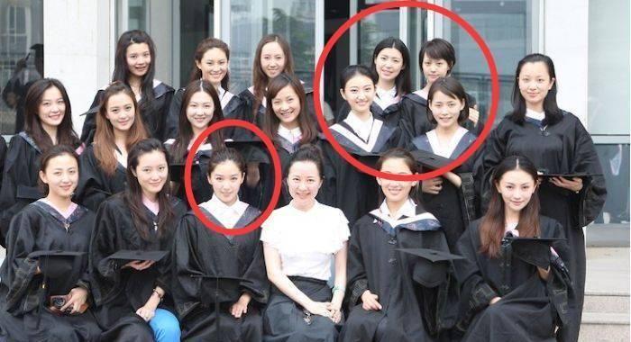 阚清子称郑爽是班花,但是看到毕业照,没想到班花是她