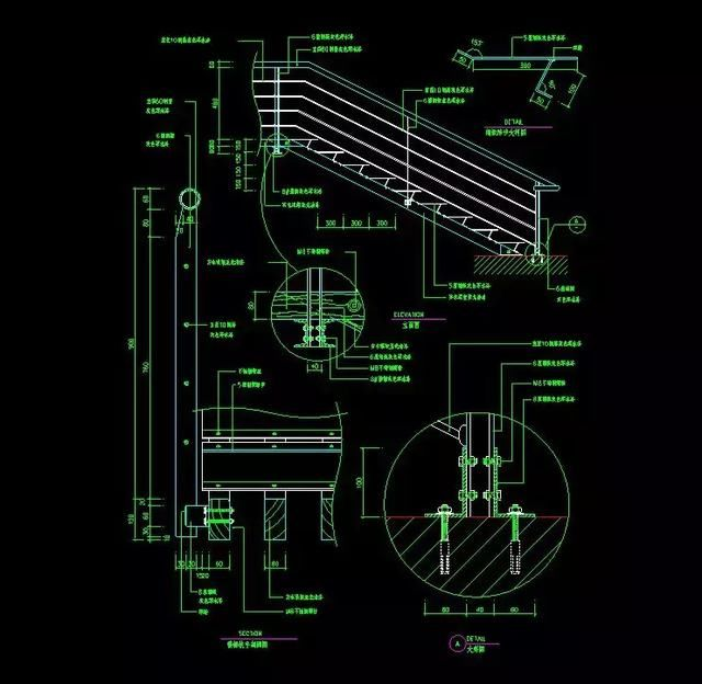 室内设计圆弧:120套资源详细CAD施工图+CAcad快捷半径楼梯量图片