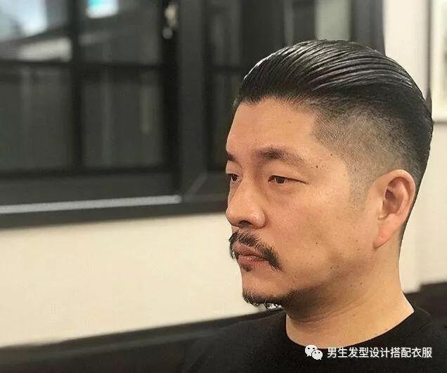 """2018潮流男生短发发型""""大背头偏分头油""""!"""