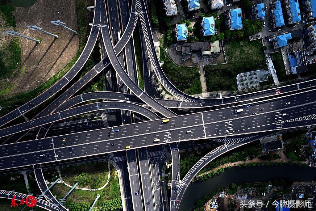 上海金桥立交桥.