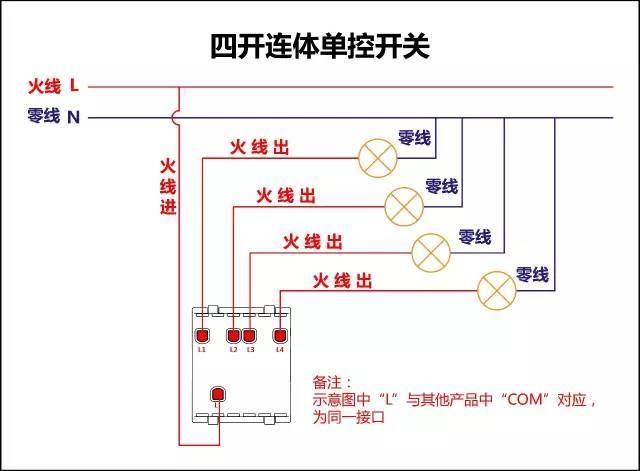 电工必备|最全的开关接线图(单控,双控,三控),值得收藏!