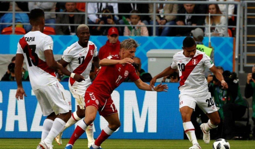 世界杯秘鲁0:1丹麦,波尔森打进唯一进球,小舒梅切尔发挥神勇