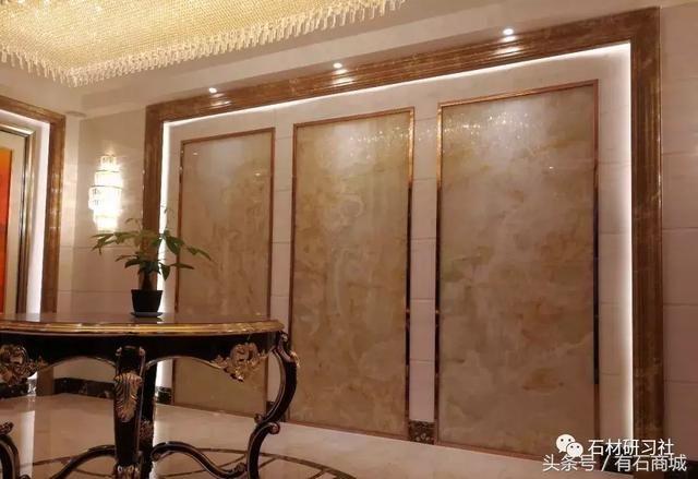 580简欧式风格别墅,大理石装饰实拍案例