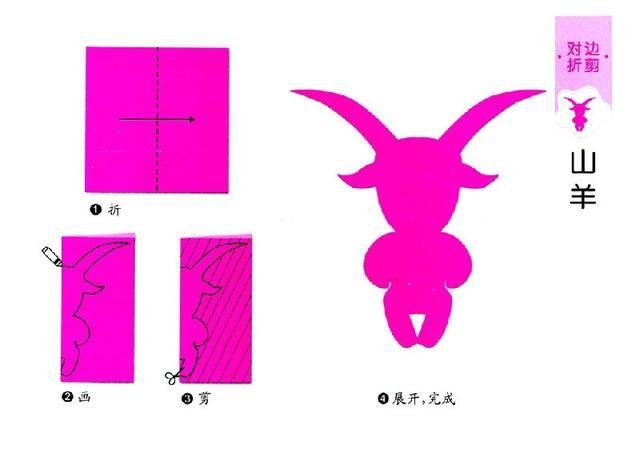 20个简单儿童剪纸教程,一看就会,超级简单