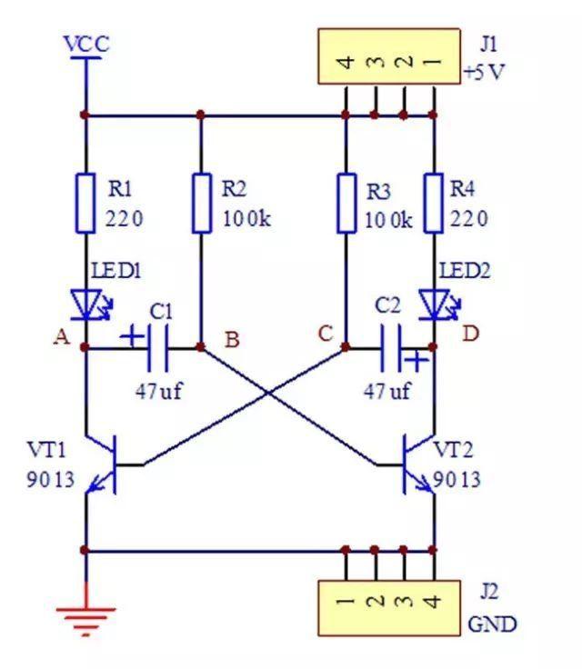 任务2:绘制基于555定时器闪光电路原理图