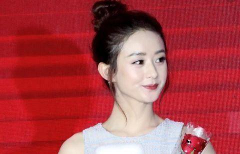 喜欢赵丽颖的编发发型,但是丸子的最爱她的还是头3股加一股所有图片