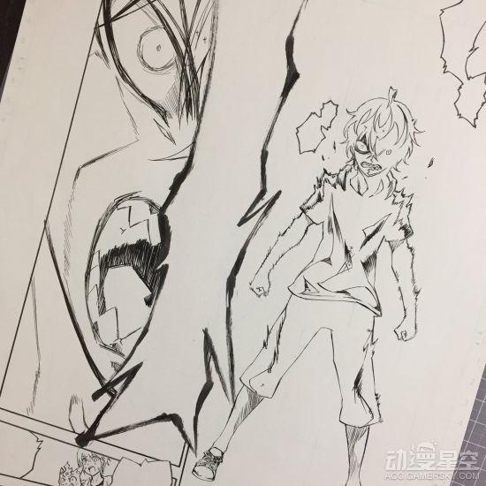 《双星之雷电师》情报49话漫画稿图公布激萌阴阳关于漫画的图片