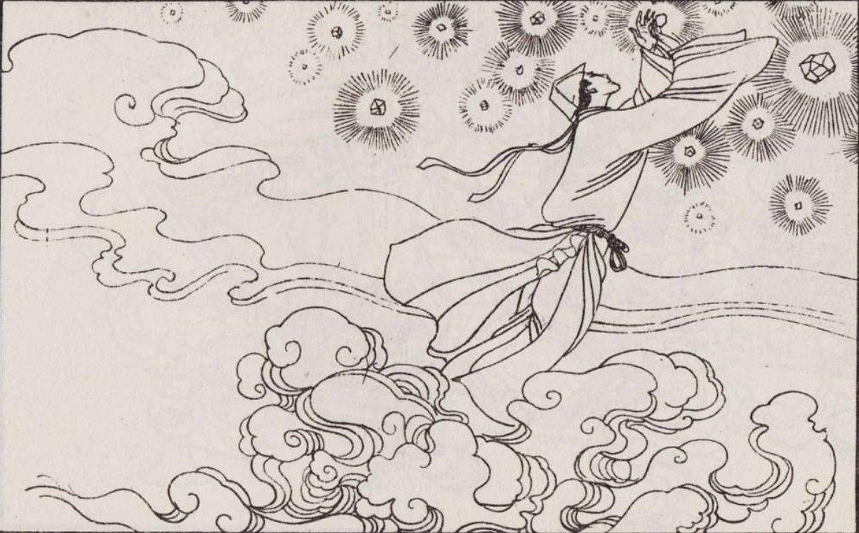 背景 壁纸 简笔画 手绘 线稿 1224_759