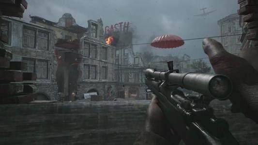 使命召唤系列作品,最震撼的二战题材枪战游戏