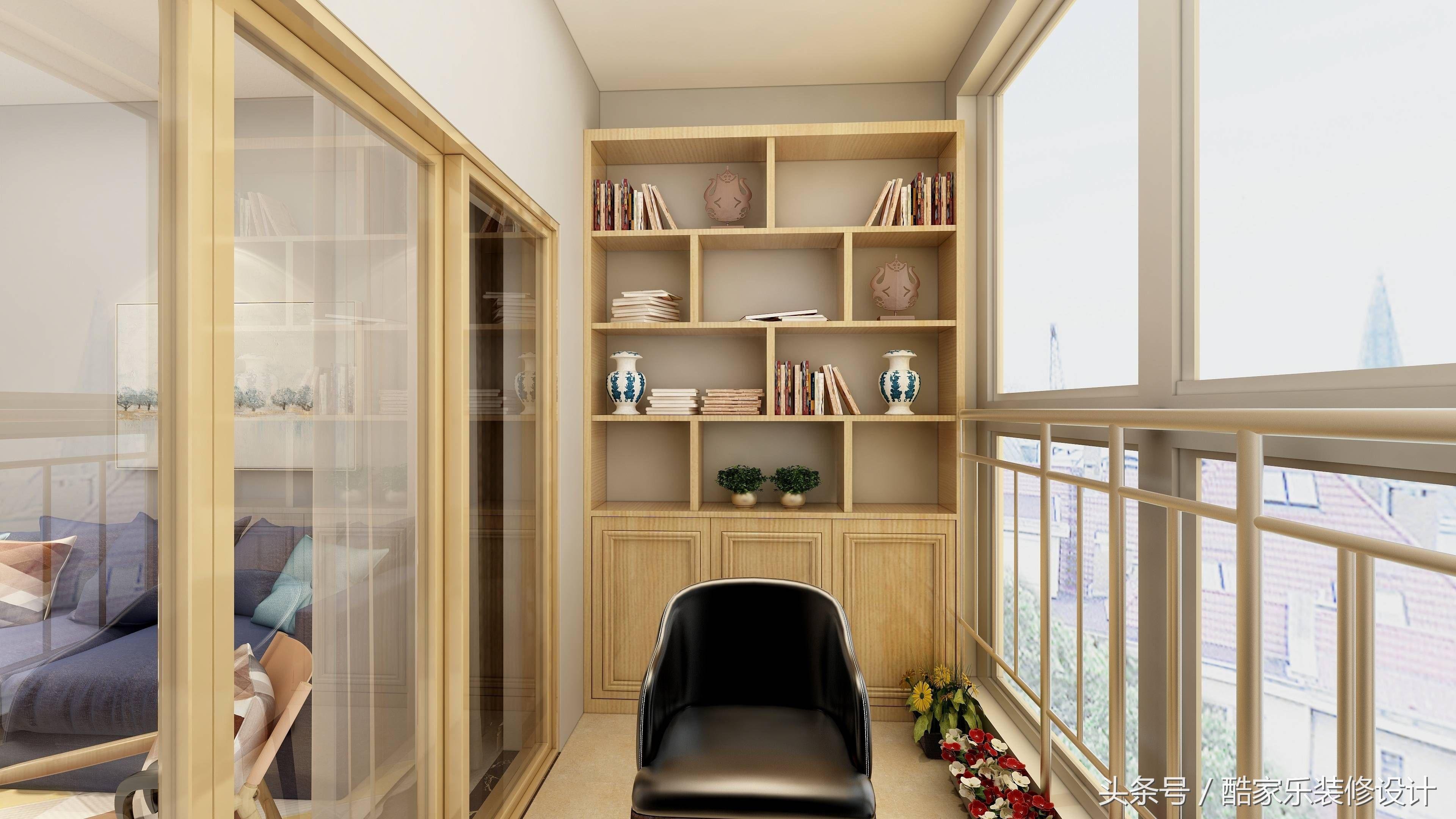 十几款阳台装修风格效果图案例分享!阳台设计图片大全