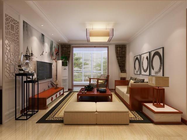 8万块钱装修的105平米的房子,中式风格简直太美了!