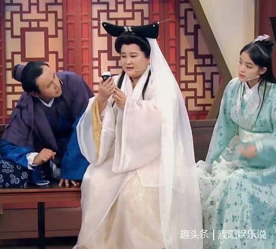 欧阳娜娜和贾玲重现《新白娘子传奇》,饰演许仙的沈腾图片