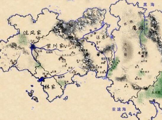 小说封面素材地图