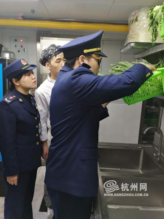 从检查情况看,杭州市的门店未发现问题
