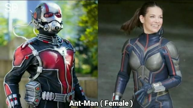 当《复仇者联盟3》所有超级英雄们都变性,女钢铁侠依旧最性感