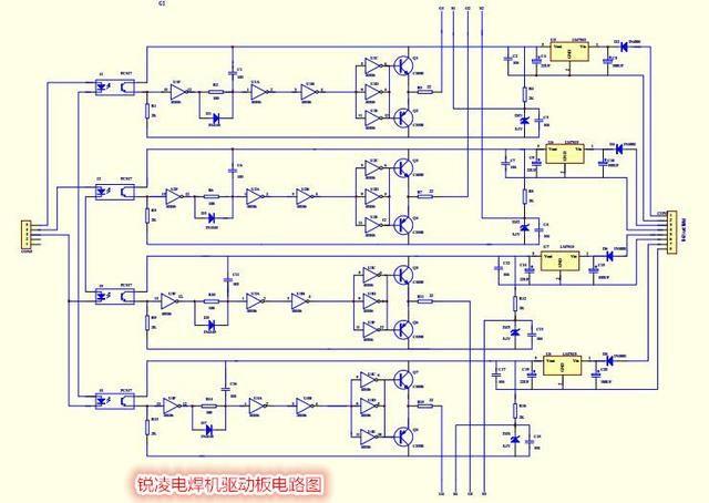 逆变电焊机原理图