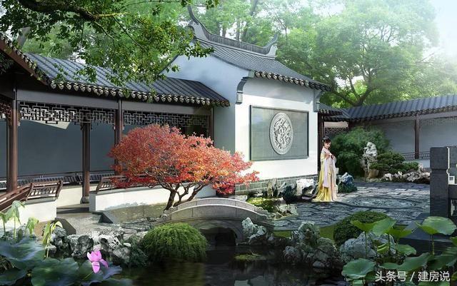 中式园林别墅被抛弃,农村建房你还选欧式吗图片