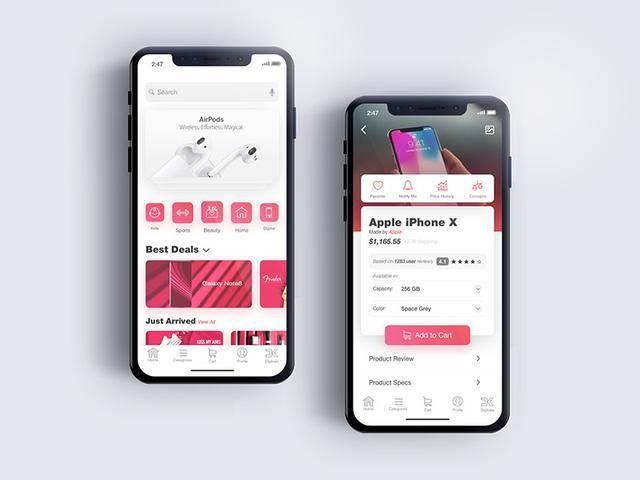 科技 正文  今天,我们来看一组时尚创意的app首页设计,看看能给您带来