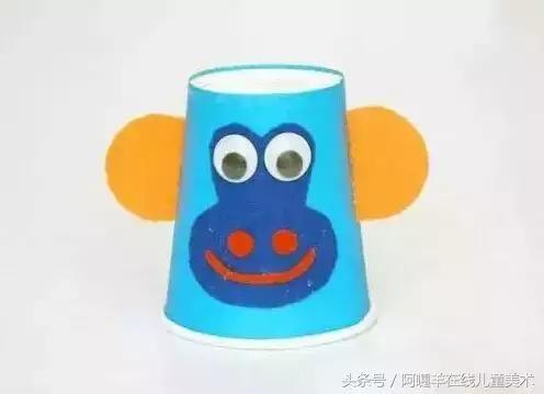 纸盘,剪刀,气泡袋,滚筒,颜料,笔等 制作步骤图解: 准备材料:小猴子