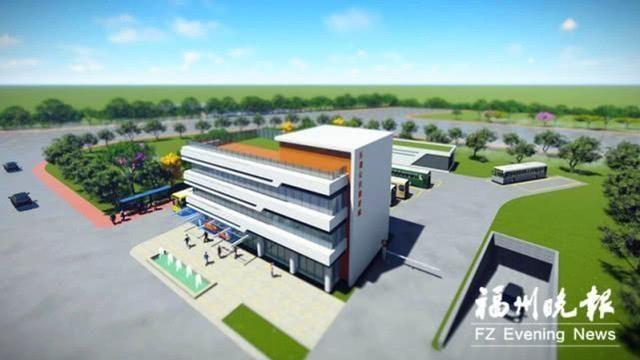 福州滨海新城两个公交首末站 主体工程年底可竣工东湖路公交
