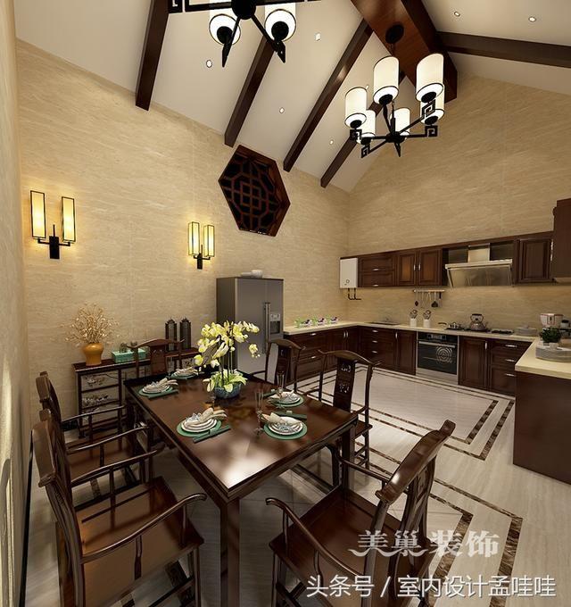 案例户型别墅会所 房屋面积380 装修风格新中式 本案采用传统的中式风格,将具有传统文化及传统寓意的一些元素符号运用一些现代的手法在配饰上呈现出来,表现一种沉淀与释怀;在空间中细致拿捏着静谧与活跃、朴素与奢华、当代与传统的关系,让古典与现代完美结合,传统与时尚并存。