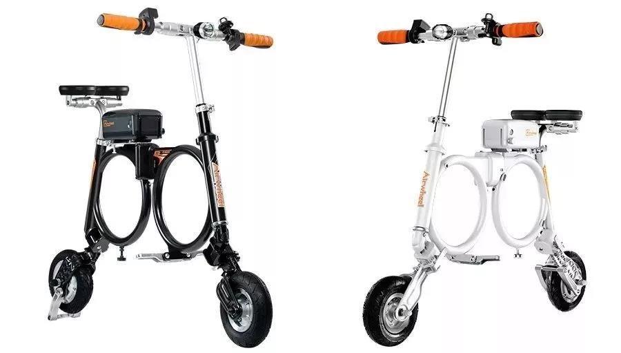 炫酷单车手绘素材