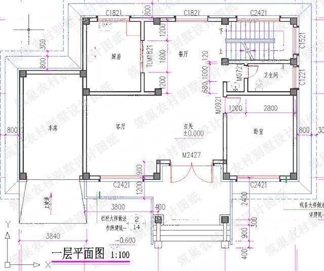 推荐 正文  农村建房子,实用最重要,这款三层农村自建房设计图不但