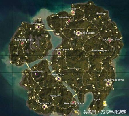 《绝地求生》海岛地图大数据:最受欢迎跳点竟是这里