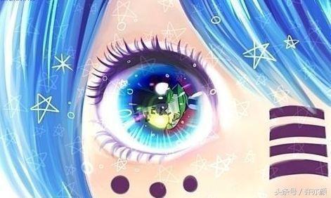 十二星座专属二次元眼睛,金牛座美得动人心魄,射手座眼睛好萌啊