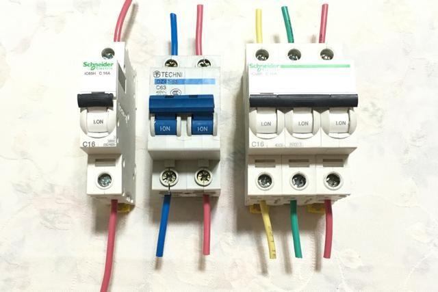 国内 正文  一,空气开关类的具体接线: 1,空气开关–1p: 二,漏电保护