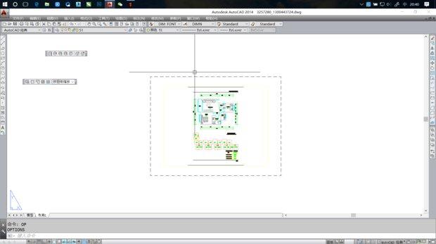 CAD中管件布局背景改cadv管件颜色图片