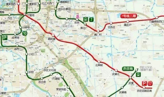 明年通州这两条地铁通车!最新北京轨道交通规划图来啦图片