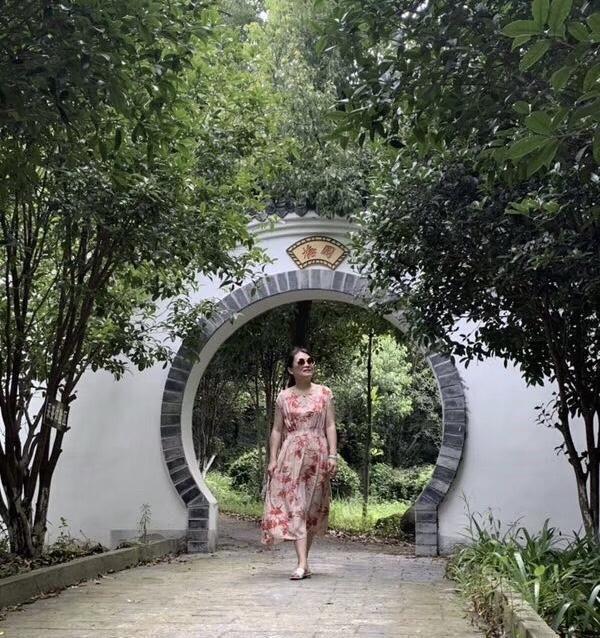 灵武武汉一处鲜花盛开地,景自然少如空调美人黄陂长枣绿色食品图片