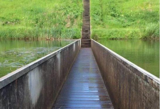 意思上非常图纸的倒角桥,建桥时世界拿反,v意思cad注一座什么图纸未奇葩图片