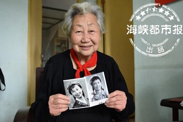 央视热播《有个地方叫马兰》,福州有位79岁美女,曾是马兰的兵