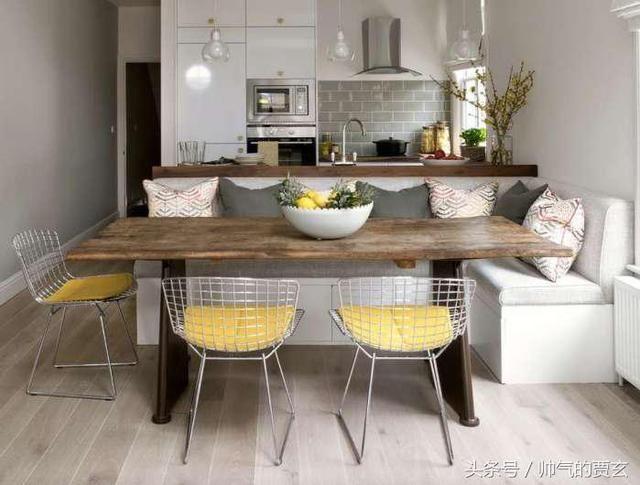 时尚欧美家居,欧式30种最新流行的创意用餐区设计,家居新潮流